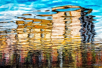 Irena Anna Sowinska - Water House Digital Photograph on Fine Art Paper, Photography