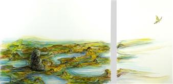 Kenji Inoue - Do Do To Do Do Oil on Canvas, Paintings