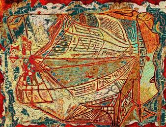 Sergey Kir - Muse of Financial Mathematics Digital Print on Canvas, Prints