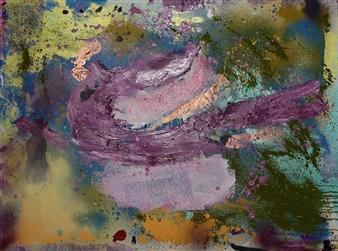 Oliwia Biela - Purple Wind Oil & Acrylic on Canvas, Paintings