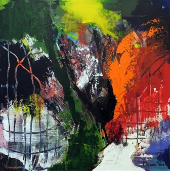 Menno Vos - Holland Acrylic on Canvas, Paintings