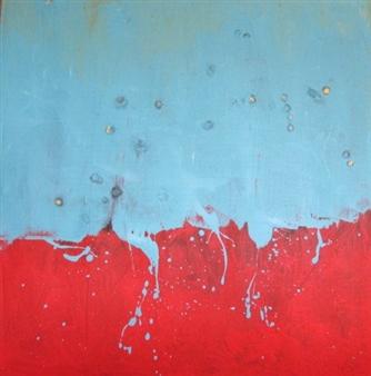 Joan Criscione - This Is It Mixed Media on Canvas, Mixed Media