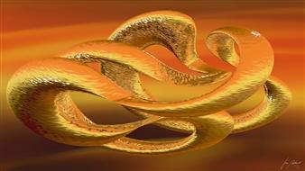 Stan Adard - Mystery Swing Digital Breathing Picture, Digital Art