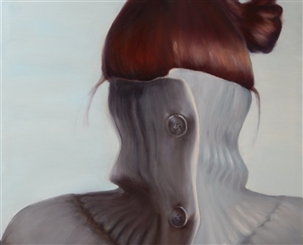 Marina Sutter - Who Am I? Acrylic & Oil on Canvas, Paintings