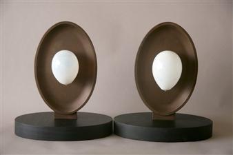 Richard Light - The Birth of Dow Corning Bronze, Sculpture