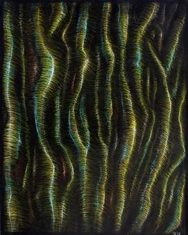 Samuel Lehikoinen - Shine Like There's No Tomorrow Acrylic & Pastel on Board, Paintings