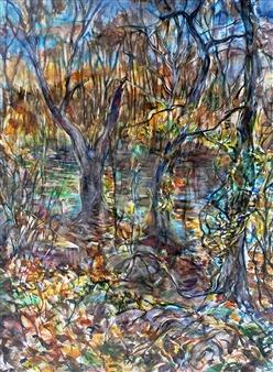 James Chisholm - Ipswich R Topsfield Watercolor on Paper, Paintings