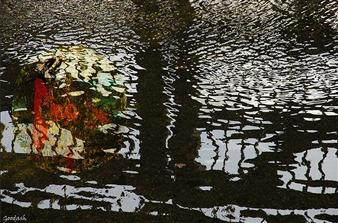 Goodash - The Pond Digital Print on Canvas, Prints