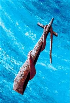 Frank M. Alba - Sacrifice and Healing Acrylic on Canvas, Paintings