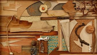 Ellen Burnett - Waiting for the Solstice Wood, Sculpture