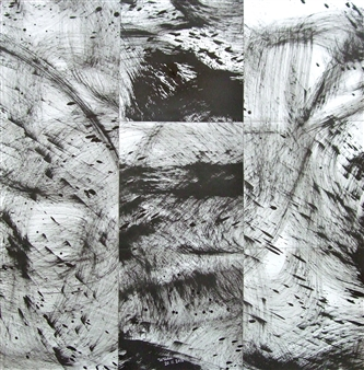 Ken Wada - Untitled No.49 India Ink on Paper, Drawings