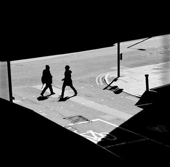 Madiha Abdo - Dark Composition 2 Photograph on Metallic Paper, Photography