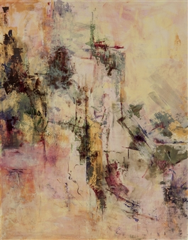 Sandra Mueller-Dick - Nature's Balance II Acrylic on Paper, Paintings