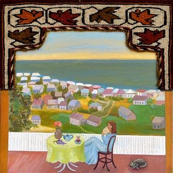 Yegana Azadova - Arousal Acrylic & Mixed Media on Canvas, Mixed Media