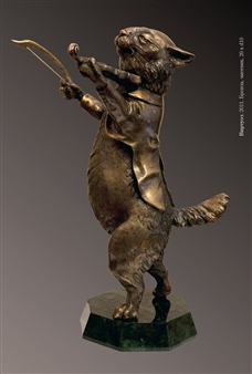 Anna Voloshko - Virtuoso Bronze, Sculpture