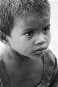 Riya Sharma - Innocent Poverty Photograph on Fine Art Paper, Photography