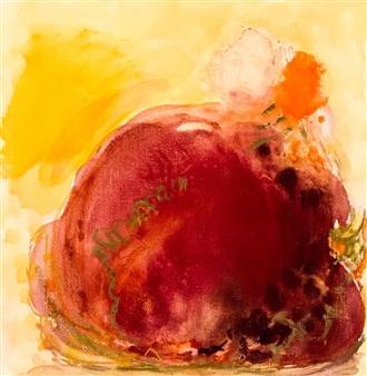 Susana Rapallo - Reflec - Surprise Oil & Pastel on Canvas, Paintings