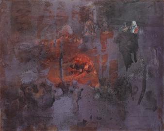 Irma Lescinskaite - Metalic Gloss III Oil on Canvas, Paintings