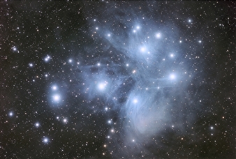 Mark Hellweg - Seven Sisters - Pleiades Photography on Canvas, Photography
