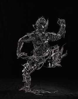 Banjerd Lekkong - View 3 - Hanuman's Standing Iron, Sculpture