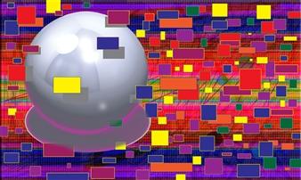 Bill Dixon - What Color Am I Digital Art and Acrylic on Canvas, Digital Art