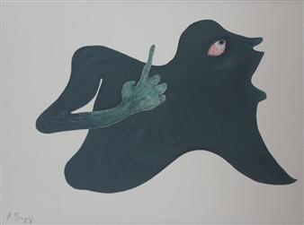 Ardian Tragaj - No Title 2 Acrylic on Canvas, Paintings