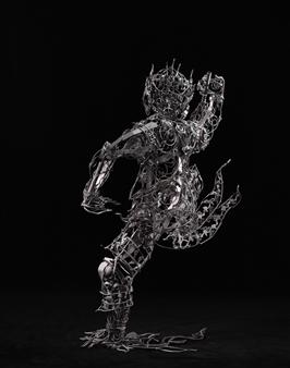 Banjerd Lekkong - View 4 - Hanuman's Standing Iron, Sculpture