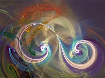 Enrico Ambrosio - Antique Dream Digital Artwork on Canvas, Digital Art