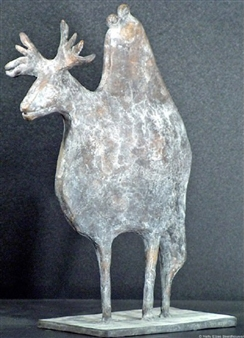 Yetty Elzas - Finnish Riders Bronze, Sculpture
