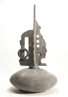 Susan Kadish - 6677 Stoneware, Sculpture