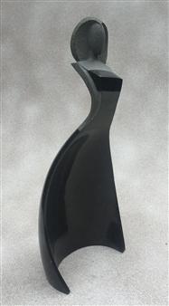MORLOT Claude - Grand Largue (Broad Reach) Stone, Sculpture