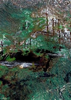 Rejane Dal Bello - EarthArt_006 Giclee Print on Paper, Digital Art