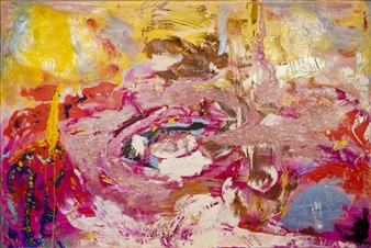 Oliwia Biela - Reciproco Amore Acrylic & Oil on Canvas, Paintings