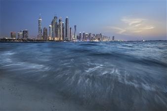 Olga Grinblat - Dubai Marina View Photograph on Fine Art Paper, Photography