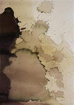 Kate Wilson - Serenading Forms III Mixed Media on Paper, Mixed Media