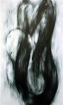 Koki Morimoto - With Respect to Area 1 Acrylic on Canvas, Drawings