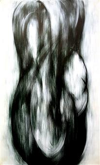 Koki Morimoto - With Respect to Area 4 Acrylic on Canvas, Drawings