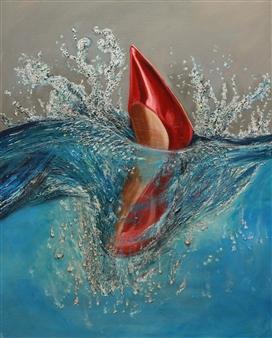 Graciela Bosoglanian - Sexy Oil on Canvas, Paintings