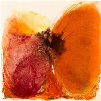 Susana Rapallo - Reflec - Joy Oil & Pastel on Canvas, Paintings