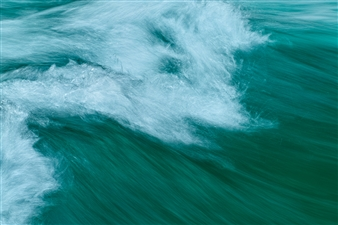 Mark James Ford - Standing Wave II Photograph on Acrylic Glass, Photography