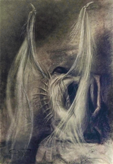 Gustavo Gallardo - En Silencio Digital Artwork on Canvas, Digital Art
