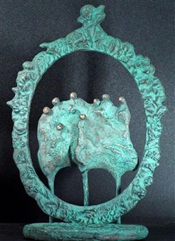 Yetty Elzas - Family Portrait Bronze, Sculpture