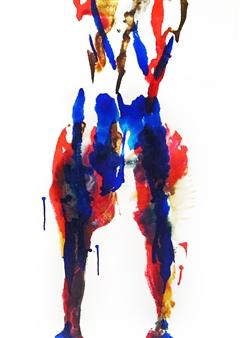 Sarah Elyse Granetz - Metamorphosis Acrylic on Canvas, Paintings