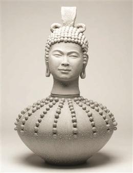 Susan Kadish - 6786 Stoneware, Sculpture