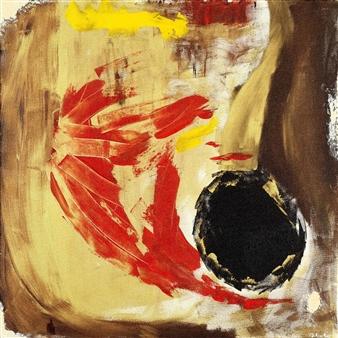 Oliwia Biela - Vide Cor Meum Oil & Acrylic on Canvas, Paintings