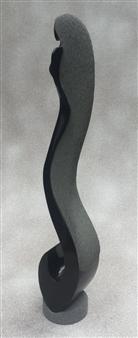 MORLOT Claude - View 3 - La Houle (The Swell) Stone, Sculpture