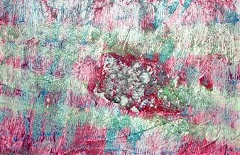 Trent Altman - Breath Taking Acrylic & Mixed Media on Canvas, Mixed Media
