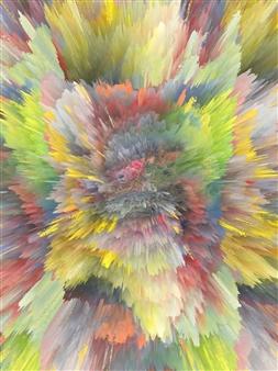 Alex Osborne - Fade 3D Archival Digital Print on Panel, Digital Art
