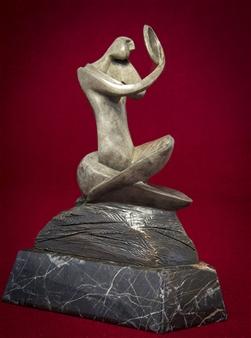 Maria Bayardo - Reflexion Bronze, Sculpture