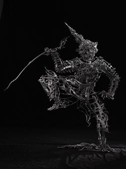 Banjerd Lekkong - Ravana's Standing Iron, Sculpture